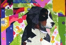Canine Quilts / Love these adorable designs, inspired by our canine companions!