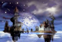 Fantasy / Graphic works wonderful , images that evoke fantastic stories and fairy ....