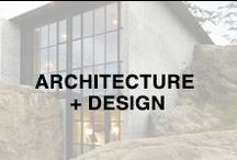 Home   Architecture + Design / Modern home design and architecture.