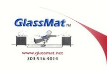 GlassMat / Photos and Links about our innovative GlassMat Product.