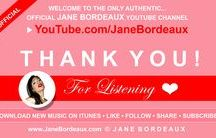 """YouTube.com/janebordeaux Join Over 1,300+ Followers / Follow The Only OFFICIAL JANE BORDEAUX MUSIC FAN PAGE on YOUTUBE • SUBSCRIBE TO THE """"JANE BORDEAUX"""" YOUTUBE CHANNEL & SHARE Jane Bordeaux Music Online! New Music Available On iTunes, Amazon & Google Play! >>> CLICK LINK >>> (OFFICIAL) Subscribe: http://www.YouTube.com/janebordeaux"""