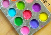Homemade Paint Recipes / Interesting Homemade Paint Recipes to try!