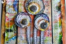 Mixed media! / An eclectic mix bits and bobs.
