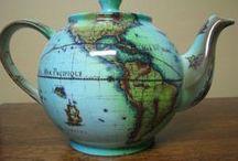TEA - Tea Pots / by Joce McD