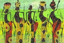 African Art & Greeting Cards / A collection of African Art and Greeting Cards available at the Lov'edu Store and Online at www.lovedu.co.uk