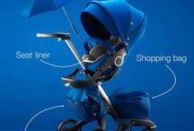 Fashion kinderwagen / Ook kinderwagens en buggy's hebben tegenwoordig een hoog fashion gehalte. Sommige zijn echte eyecatchers!