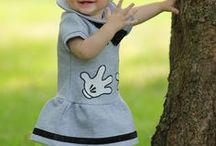 Trendy babykleding / Schattige baby's in fashion outfits