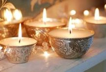✒ Candles and light…