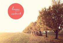 ✒ Happy Weekend