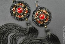 my jewelry / Jewelry by Arina Orekhova (beadwork)