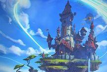 Paysages - Fantasy - Fantastiques