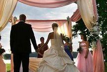 Dekoracje Ślubu - Edan-Art / Nasze dekoracje, kościołów, uroczystości w plenerze, dekoracje auta do ślubu, kwiaty do kościoła