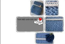 Gehaakte dekens voor newborns / Warme dekens gehaakt van dik of dunner katoen of acryl. Op maat en kleur gehaakt door Van Mij Aan Jou. (http://www.vanmijaanjou.nl)