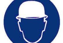 Kaski ochronne / Ochrona głowy, kaski ochronne, hełmy, czapko-hełmy.