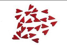 Valentýnské dekorace - Srdíčka všude kolem / Stylové Valentýnské doplňky a dekorace.