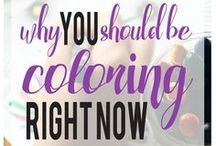 Why We Color / Why have adults embraced coloring books?  The benefits are many: stress relief, mindfulness, nostalgia, procrastination...