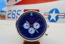 """The """"Patriot"""" / One of three styles launched with our First Wave inaugural watch line"""