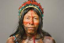 Têtes humaines (Indiens Amérique)
