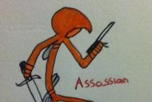 Assassins Creed Stick-Men / Assassins