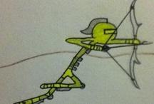 Skyrim Stick-men