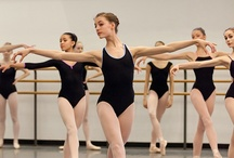 In the Classroom - Winter Term / SAB's Winter Term takes place from September through June. Students in the Intermediate and Advanced Divisions rigorously train 6 days a week in hopes of achieving professional ballet careers. The Intermediate Division includes Girls B1, Girls B2 and Intermediate Men.  The Advanced Division includes Girls C1, Girls C2, Girls D and Advanced Men.  These photos take you inside the classroom to see Winter Term students hard at work.   All photos on this board are by Rosalie O'Connor.