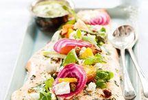 Kaunista lautasilla / On the plate