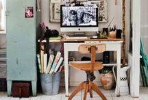 Workspace & desk & storage