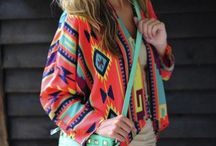Aztec Draped and Tribal Cardigans Etc