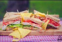 Sendviče / Ručně vyráběné sendviče jako svačina nebo oběd z čerstvých surovin. Svou nutriční vyvážeností se perfektně hodí i jako alternativa stravy pro sportovce.