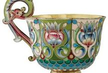 Russian enamel / Russian enamel and silver