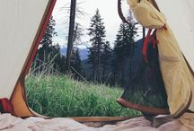 camping and tramping