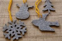 it's time for Christmas / Some Felty Christmas Inspiration for all you DIY people