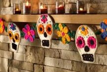 HaHaHalloween / Use Woolfelt to create this year's Halloween decorations/craft kits. Colours you definitely need: black (40), white (56), bright purple (32), lime (42), bright orange (05), grey (39). light grey (37), tree green (43), brown (16), red (07)