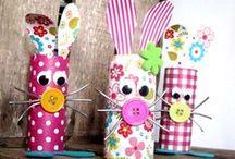 Décoration et Bricolage de Pâques / Décoration et Bricolage de Pâques ( arrangement florale, décoration de table...)