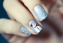 Ongles Noël / Des belles idées pour faire vos ongles pour les fêtes de fin année et notamment pour Noël