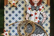 Prima Dolls / Prima Doll Stamps/Projects