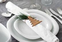 deco noel / Décoration pour sapins, table de Noël...
