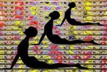 Yoga and meditation ideas and designs
