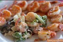 Салаты рецепты / Salad recipes / Рецепты салатов, простые вкусные и полезные / Salad recipes - easy cooking and always tasty