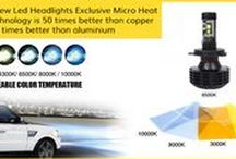 LED Headlight Kits / Brand New Led Headlights Exclusive Micro Heat Pipe Technology is 50 times better the copper and 100 times better than aluminium.