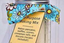 Homemade Sauces, Mixes, Charts, etc. / by Arnita Shelton