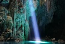 Cuevas o bajo tierra