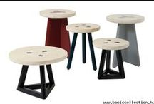 STOOLS & POUFS | Basic Collection / http://basiccollection.com/stools