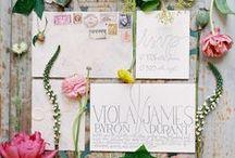 Stationery / Beautiful stationery inspiration for your wedding or celebration from Holden Bespoke.