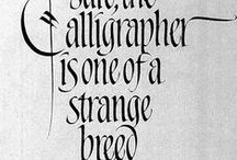 calligraphy / by Caroline Owen-Thomas