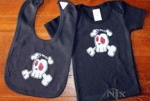 Kids Clothing / Nix Dungeon Hand Made Kids Clothing. For the Alternative child among us!