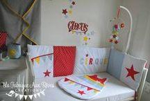 Décoration chambre enfant cirque / circus nursery / Décoration chambre enfant cirque