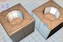 References: 3D_Clean_SubPatch_Topology / Examples of good and clean topolgy prepared for Smooth/Subpatch.