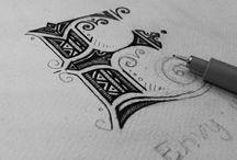 Symbols, Scripts, Lettering, Numerals