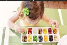 Tuin; eten in en uit de tuin / Moestuin, picknick, alles met gezonde voeding...